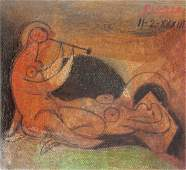 Pablo Picasso Spanish Mixed Media Galerie Mathias