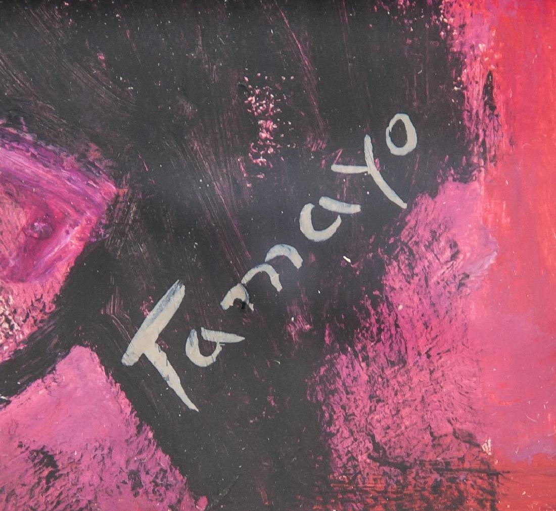 Rufino Tamayo Mexican Surrealist Acrylic on Board - 4
