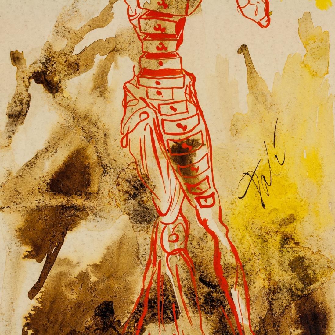 Salvador Dali Spanish Surrealist Mixed Media Paper - 4