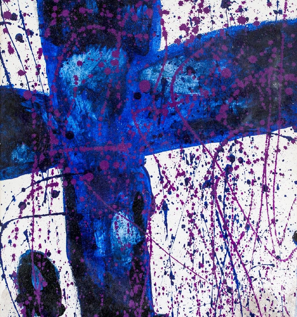 Sam Francis American Abstract Oil on Canvas - 4