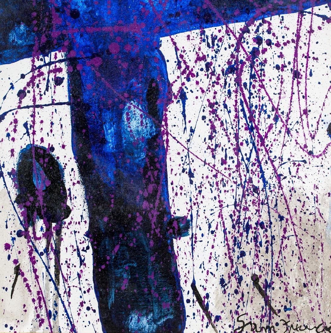 Sam Francis American Abstract Oil on Canvas - 5