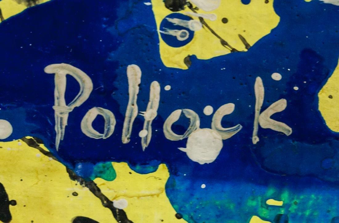 Attr Jackson Pollock American Abstract Oil Canvas - 5