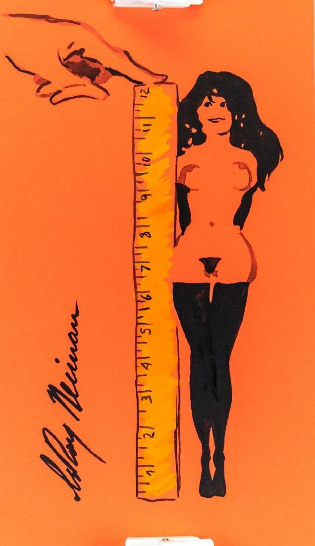 LeRoy Neiman US Pop Art Ink Femlin