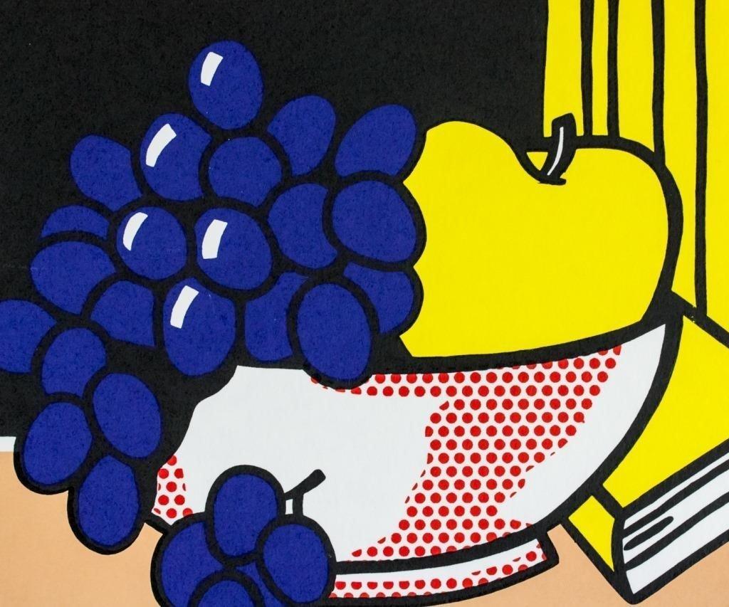 Roy Lichtenstein American Pop Signed Litho 10/200