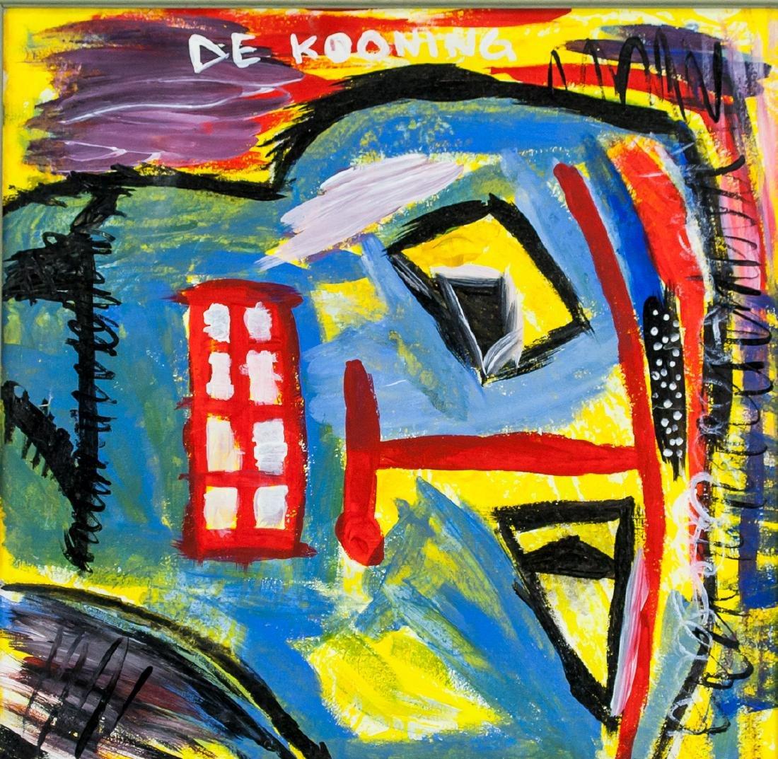 Willem de Kooning Dutch-American Abstract OOC