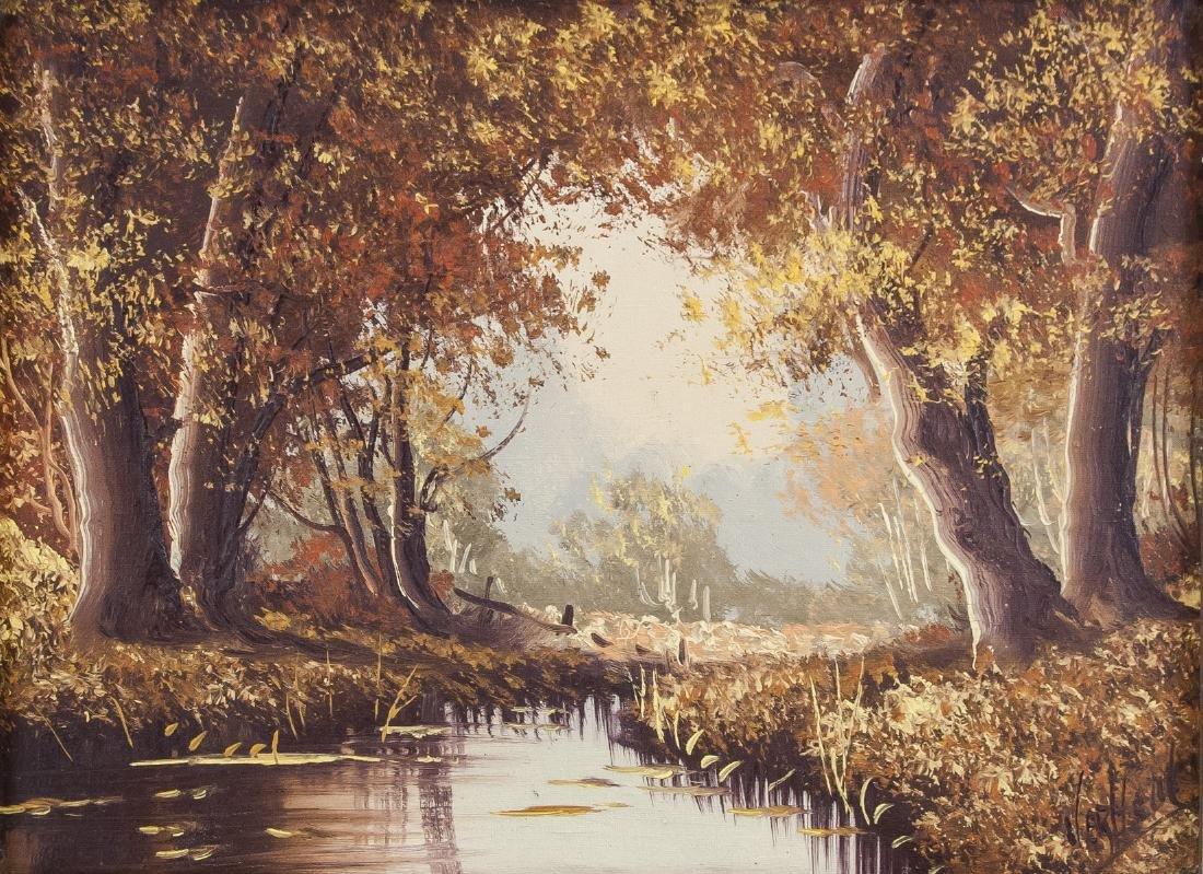 Signed Verheul Dutch School Oil on Canvas