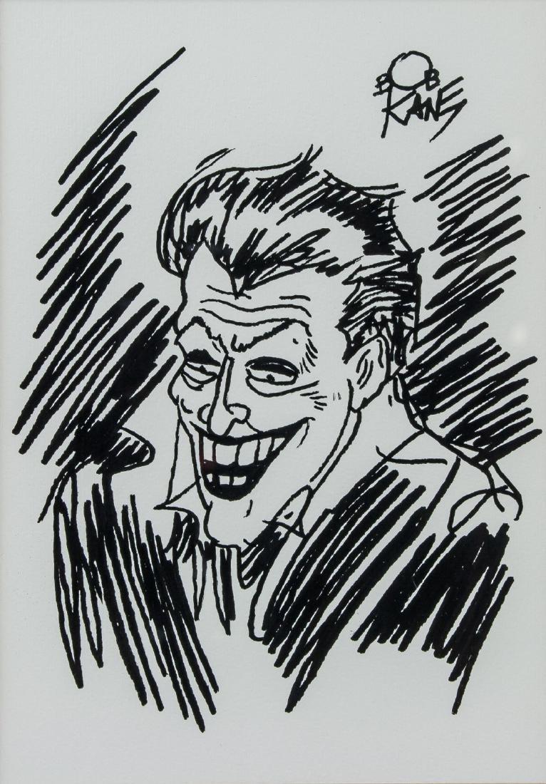 Bob Kane American Pop Art Ink Joker