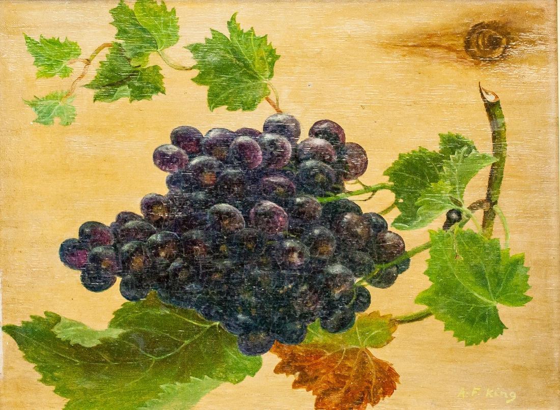 Albert Francis King American Oil on Canvas Still