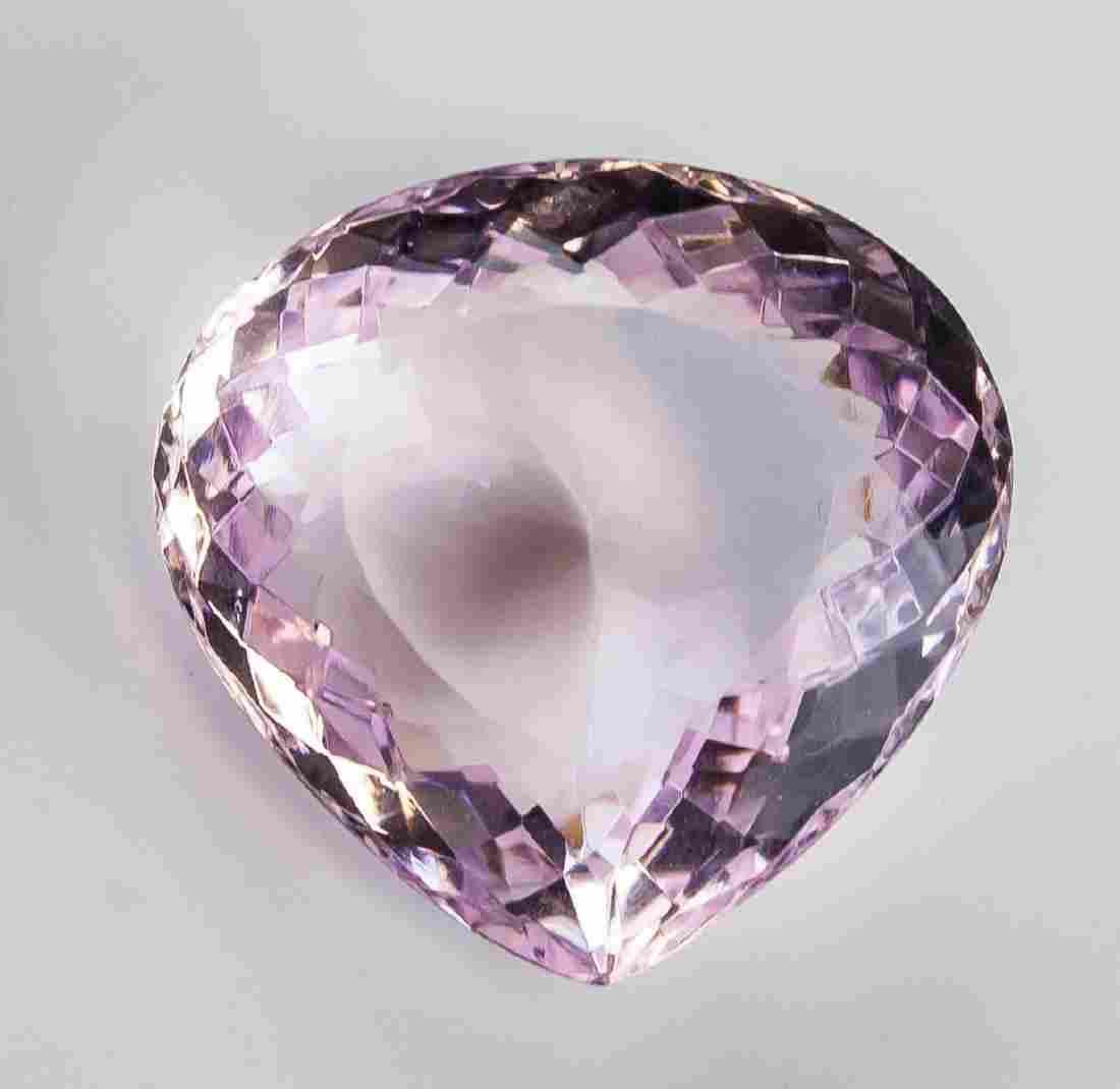67.65 ct Natural Amethyst Gemstone Certificate