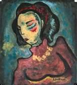 Alexej Jawlensky Russian Expressionist Mixed Media
