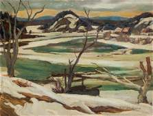 AY Jackson Canadian Group of Seven Oil on Panel