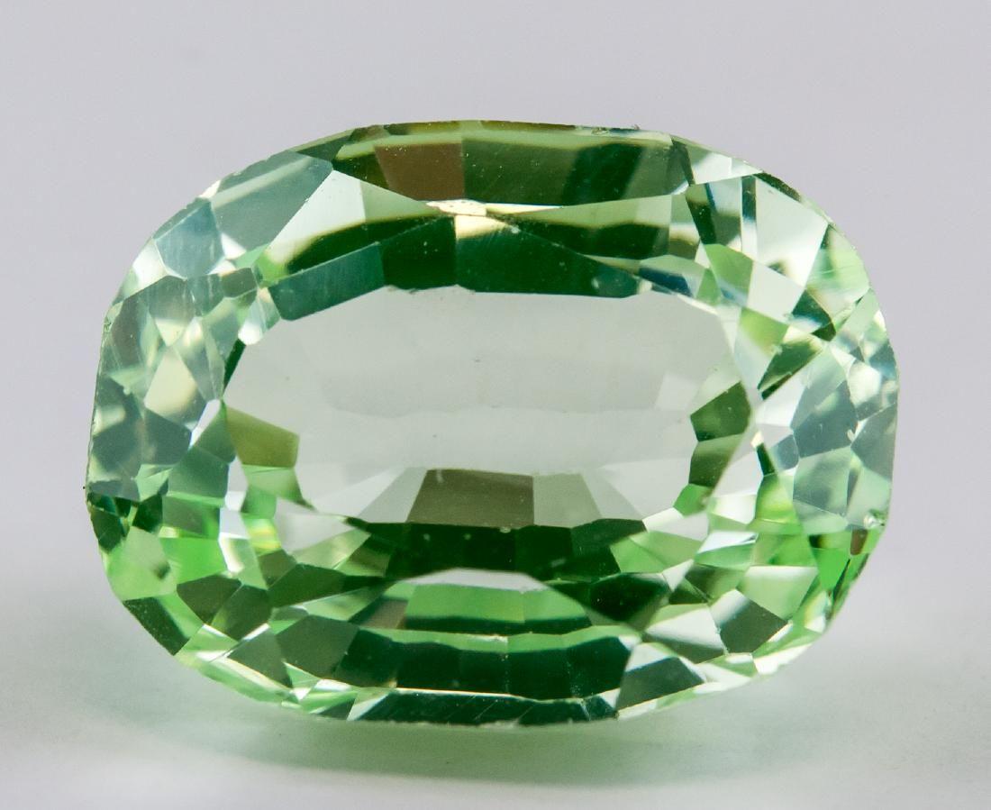 13.2 Ct Oval Cut Green Peridot AGSL Certificate