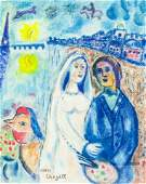 Marc Chagall RussianFrench Surrealist Pastel