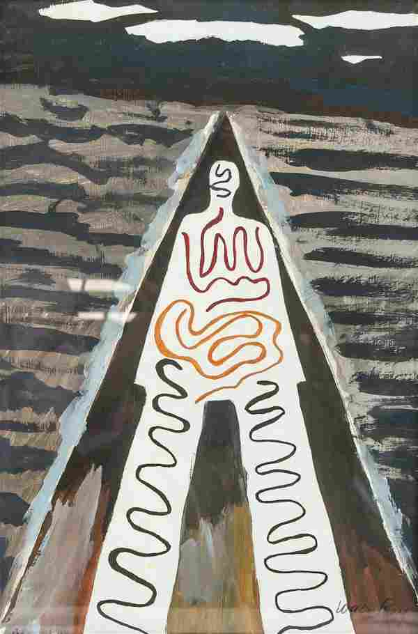 Man Ray American Abstract Acrylic Paper