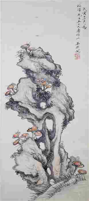 Wu Hufan 1894-1968 Chinese Watercolor on Paper