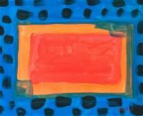 Howard Hodgkin British Abstract OOC Composition