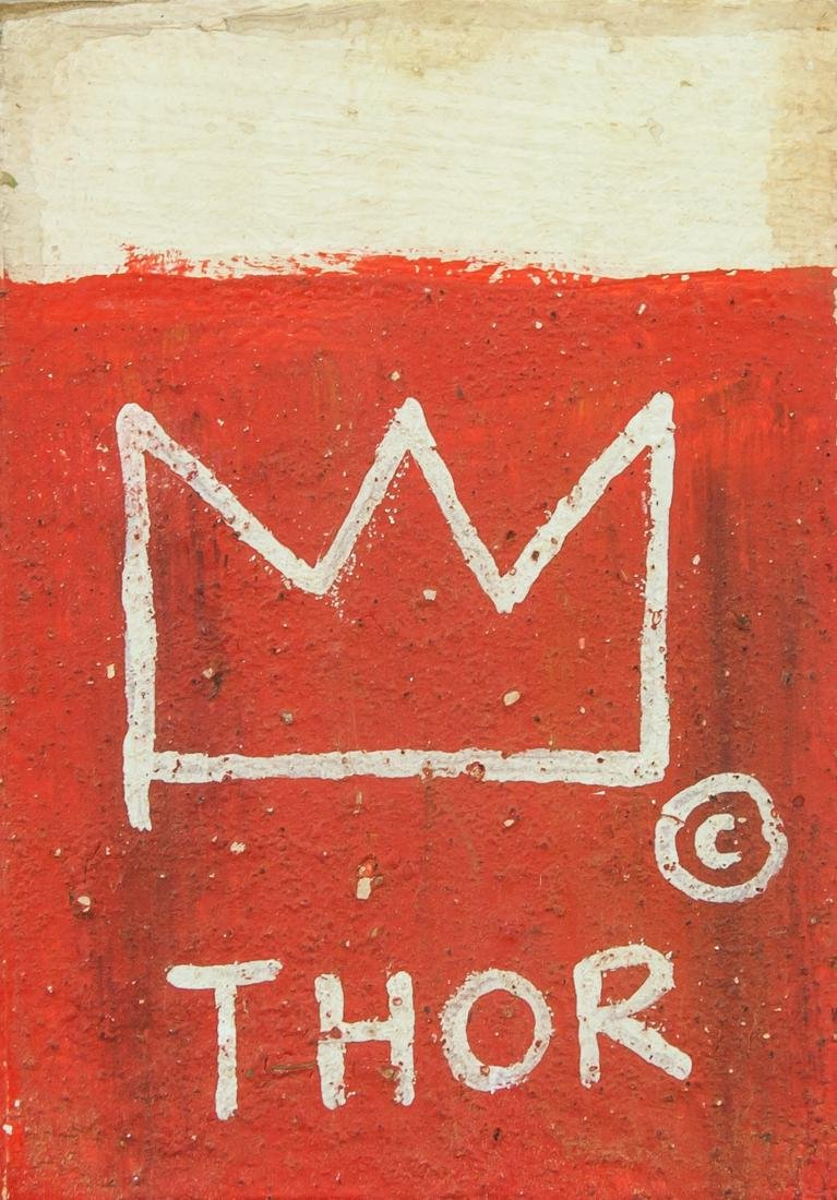 Jean-Michel Basquiat US Neo-Expressionist Mixed