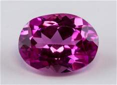 463 ct Pink Oval Cut Ruby Gemstone