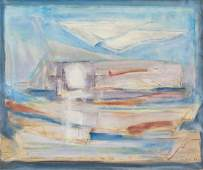 Josef Sima Czech Modernist Oil on Canvas 69