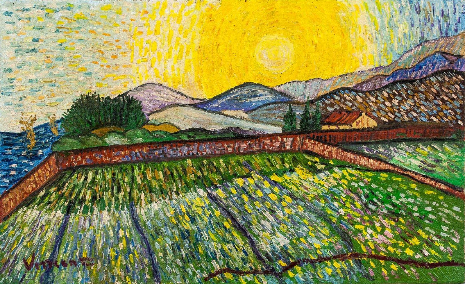 Vincent Van Gogh Dutch Post-Impressionist OOC