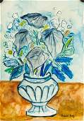 Raoul Dufy French Fauvist Mixed Media Floral