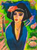 Ernst Ludwig Kirchner German Oil on Canvas