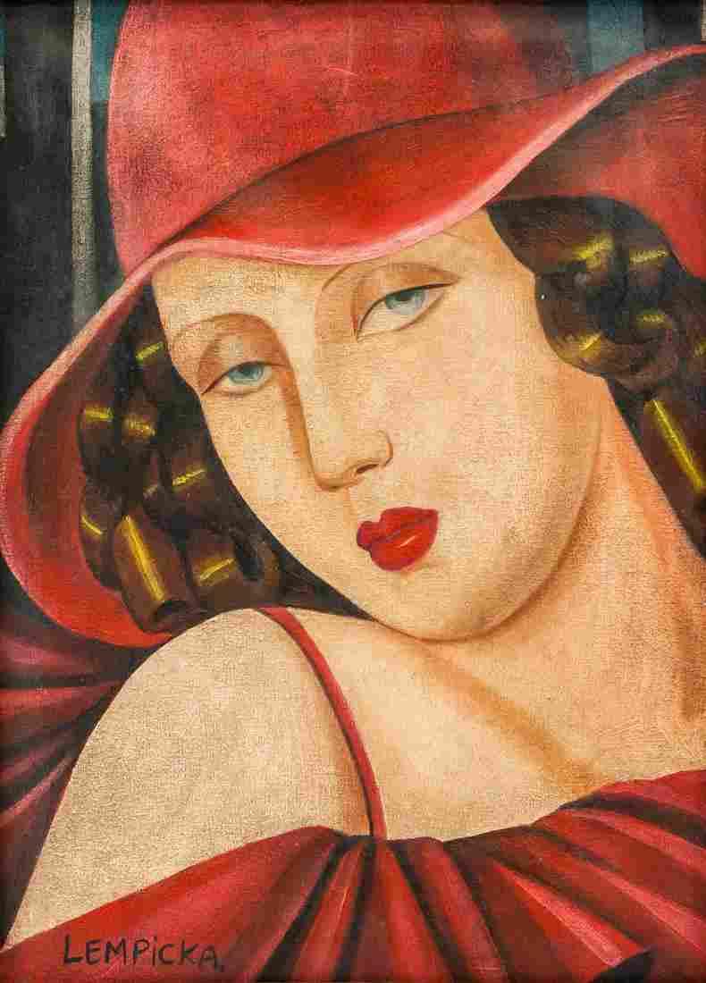 Tamara de Lempicka Polish O/C BERNER KUNSTMUSEUM