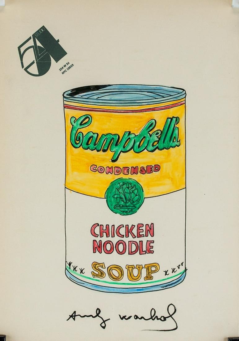Andy Warhol American Pop Mixed Media Paper 208