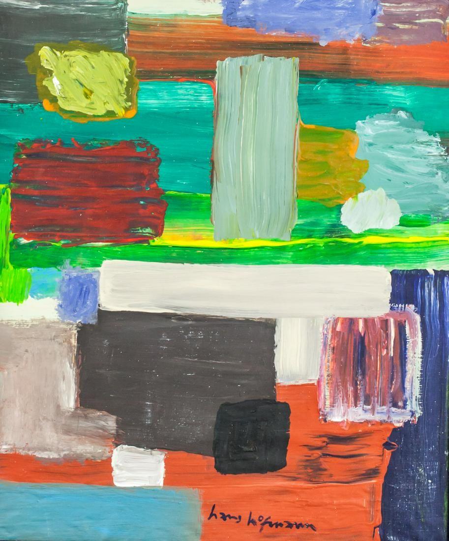 Hans Hofmann American Abstract Oil on Canvas