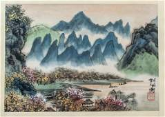 Hu Peiheng 18921965 Chinese Watercolor Booklet