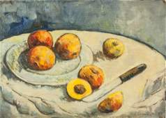 French OOB North Focus Art House Signed P Cezanne
