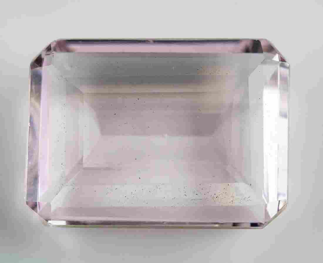 85.95ct Pink Natural Amethyst Gem AGSL COA