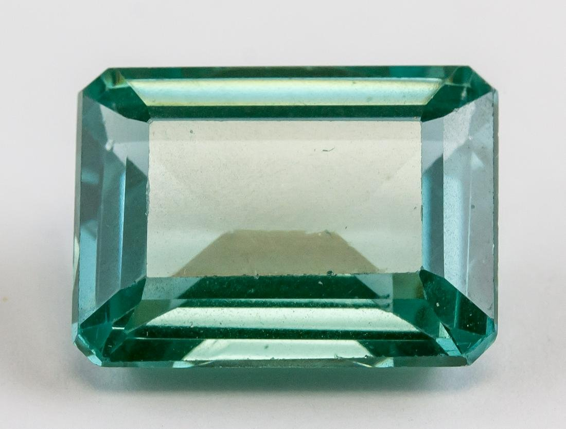 21.45ct Green Natural Sapphire Gem AGSL COA