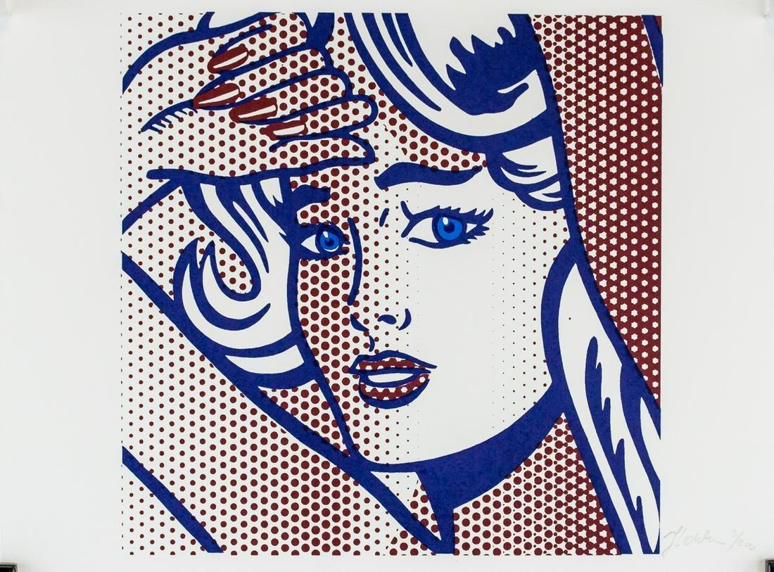 Roy Lichtenstein American Pop Signed Litho 3/200