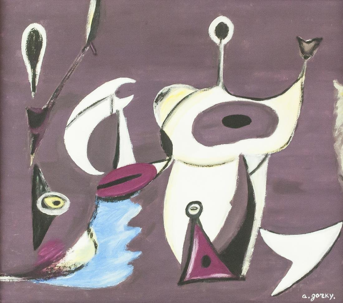 Arshile Gorky American Abstract Oil on Canvas