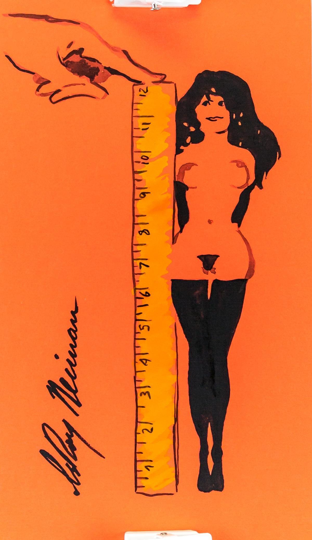 LeRoy Neiman American Pop Art Ink Femlin
