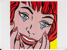 Roy Lichtenstein American Pop Signed Litho 50/100