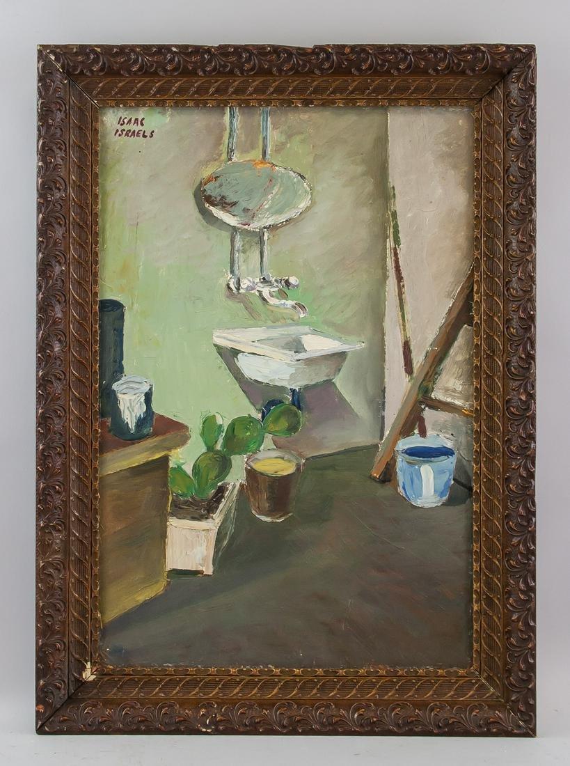 Isaac Israels Dutch Representationist Oil Canvas