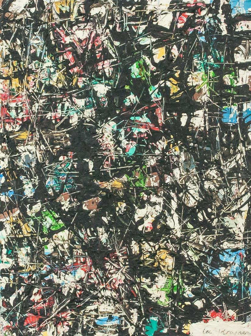 Lee Krasner American Abstract OOC Composition
