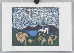 Pablo Picasso Spanish Signed Litho 35/100