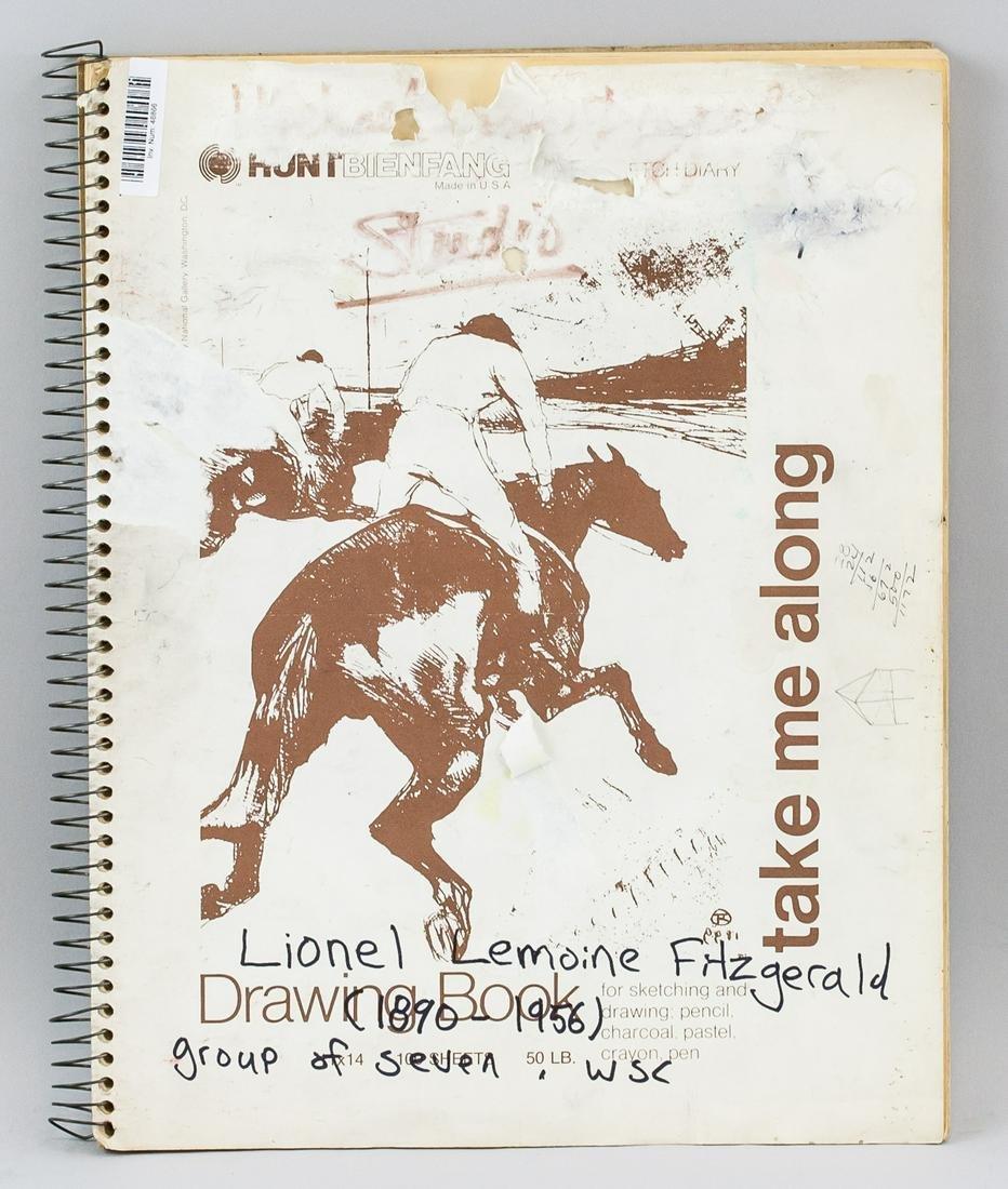 Lionel Fitzgerald Canadian Sketchbook