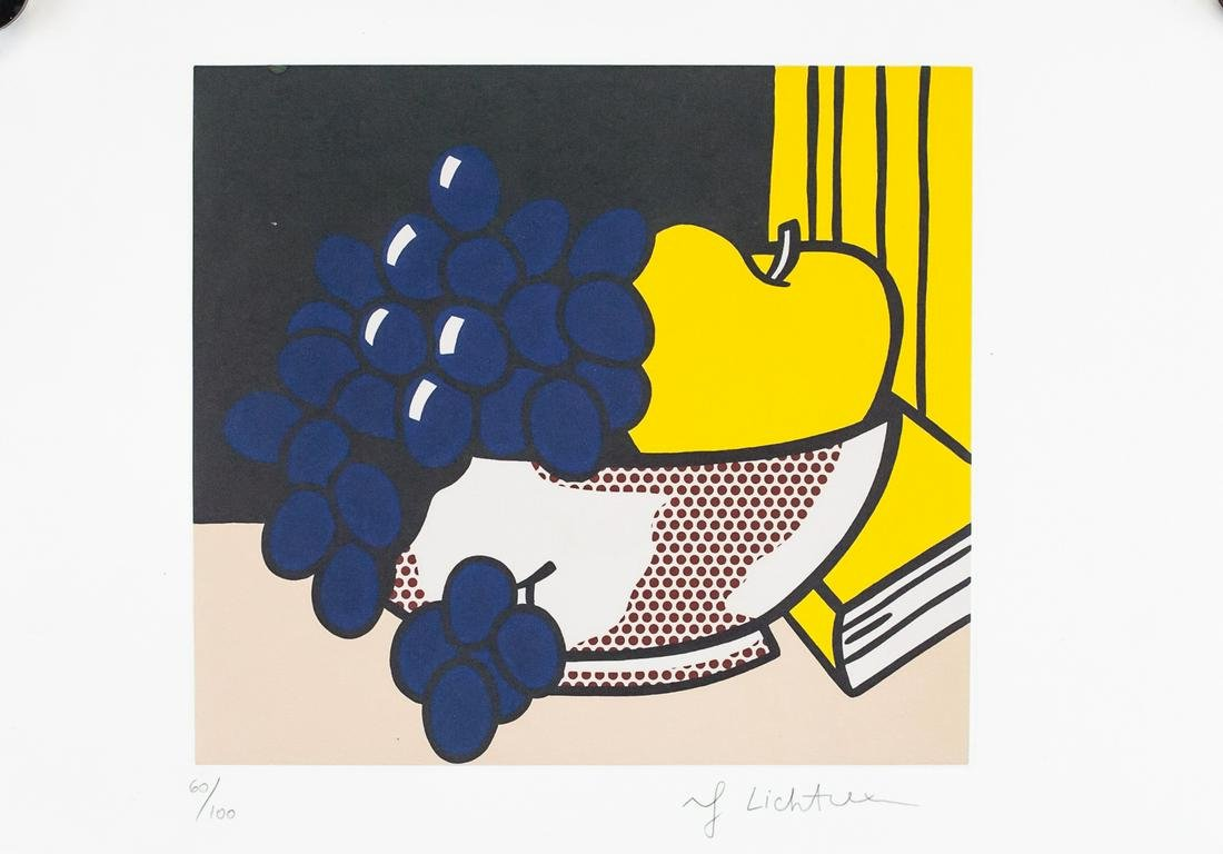 Roy Lichtenstein American Pop Signed Litho 60/100