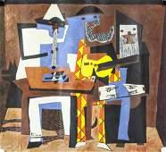Pablo Picasso Spanish Gouache Galerie Mathias Pari