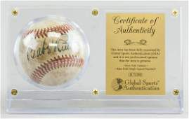 GSA Certified Babe Ruth Autographed Baseball