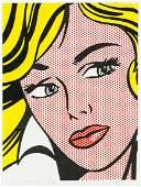 Roy Lichtenstein American Signed Litho 26/100 RL99