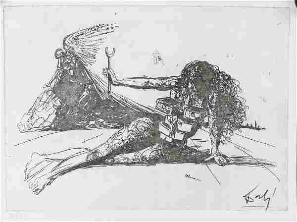 Salvador Dali Spanish Surrealist Ltd. Etching 7/80