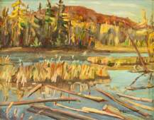 AY Jackson Canadian Oil on Panel Group of Seven