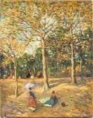 Felix Mestres Borrel Spanish Oil on Canvas