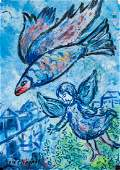 Marc Chagall RussianFrench Surrealist OilPaper