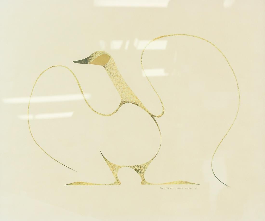 Canadian Inuit Artist Benjamin Chee Chee Print